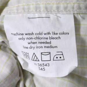 John Varvatos Shirts - JOHN VARVATOS MENS SLIM FIT DRESS SHIRT SIZE 16 32